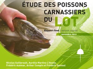 étude des poissons carnassiers du lot