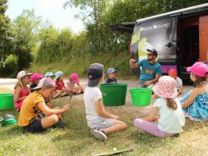 Animation pêche avec les enfants